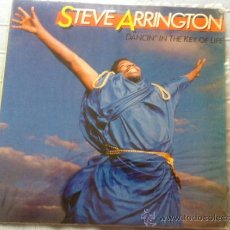 Discos de vinilo: LP STEVE ARRINGTON-DANCING IN THE KEY OF LIFE. Lote 38314255