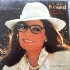 Discos de vinilo: LP NANA MOUSKOURI-TIERRA VIVA. Lote 38314419
