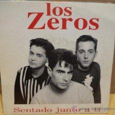 Discos de vinilo: LOS ZEROS. SENTADO JUNTO A TÍ. SINGLE PSM 11015-S - 1993. EXCELENTE ESTADO. ****/****. Lote 38313374