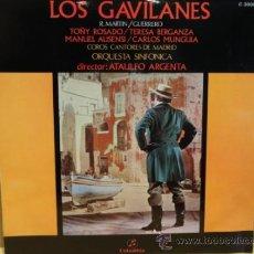 Discos de vinilo: LOS GAVILANES. ZARZUELA EN TRES ACTOS. LP COLUMBIA 1962. MUY BUENA CALIDAD. ***/***. Lote 38474798
