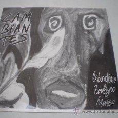 Discos de vinilo: CAMBIANTES-LABORATORIO ZOOLOGICO MUSEO-LP -EDIGAL-SANTIAGO-AÑO 1993- N. Lote 38330381