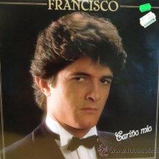 Discos de vinilo: FRANCISCO. CARIÑO MÍO. LP POLYDOR 1982. EXCELENTE ESTADO. ****/****. Lote 41064325