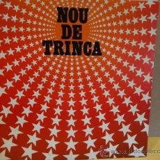 Discos de vinilo: LA TRINCA. NOU DE TRINCA. LP ARIOLA 1981.VINILO MBC. ***/***. Lote 38332805