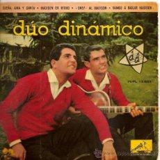 Discos de vinilo: SINGLE DUO DINAMICO - SUEÑA, AMA Y CANTA - LA VOZ DE SU AMO 1962. Lote 38333625