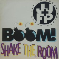 Discos de vinilo: JAZZY JEFF & THE FRESH PRINCE BOOMSHKE THE ROOM - LP. Lote 38336095