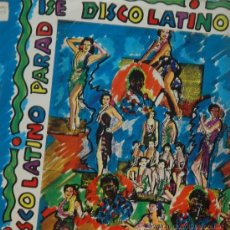 Discos de vinilo: DISCO LATINO - MAXI SINGLE. Lote 38363140