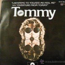 Discos de vinilo: THE WHO TOMMY SINGLE SPAIN. Lote 38349129