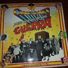 Discos de vinilo: DOBLE LP BANDA SONORA CANCIONES PARA DESPUÉS DE UNA GUERRA.. Lote 38349670