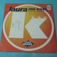 Discos de vinilo: LAURA NO ESTÁ. 1997. Lote 38359738