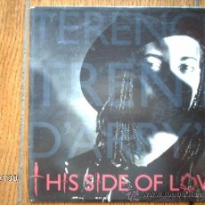 Discos de vinilo: TERENCE TRENT D´ARBY - THIS SIDE OF LOVE + SAD SONG FOR SISTER SARAH SERENADE . Lote 38378422