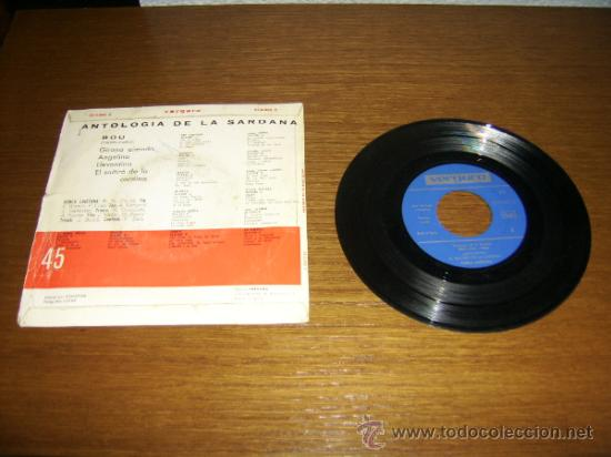 Discos de vinilo: SINGLE - COBLA LAIETANA - ANTOLOGIA DE LA SARDANA BOU 1886/1962- EDITION SPANISH - Foto 2 - 38358873