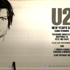 Discos de vinilo: MAXI U2 : NEW YEAR´S DAY (LONG VERSION) . Lote 38375065