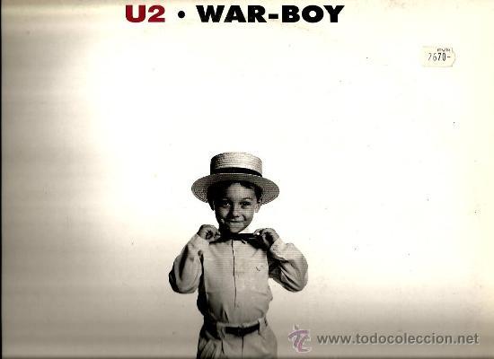 MAXI U2 : WAR - BOY (LIVE IN ENGLAND 1981 + LIVE IN HOLLAND 1980) (Música - Discos de Vinilo - Maxi Singles - Pop - Rock - New Wave Internacional de los 80)