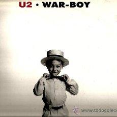 Discos de vinilo: MAXI U2 : WAR - BOY (LIVE IN ENGLAND 1981 + LIVE IN HOLLAND 1980) . Lote 38375158