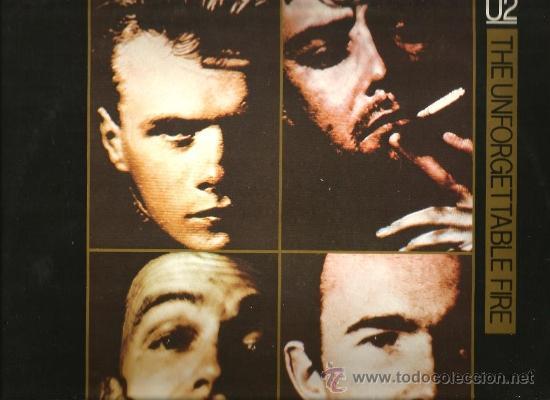 MAXI U2 : THE UNFORGETTABLE FIRE (Música - Discos de Vinilo - Maxi Singles - Pop - Rock - New Wave Internacional de los 80)