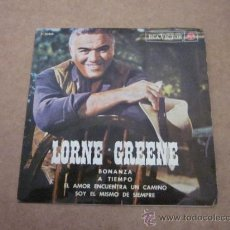 Discos de vinilo: SINGLE, VINILO, LORNE GREENE.. Lote 38386589