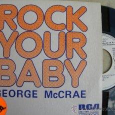 Discos de vinilo: GEORGE MCCRAE -SINGLE PROMO 1974 -IMPECABLE (PEDIDO MINIMO 3 EUROS). Lote 38386708