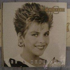 """Dischi in vinile: C.C.CATCH - LIKE A HURRICANE LP 12"""". Lote 38388237"""
