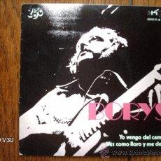 Discos de vinilo: BORYS - YO VENGO DEL CAMPO + VES COMO LLORO Y ME DEJAS . Lote 38392002