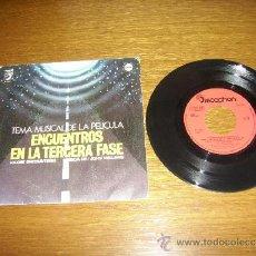 Discos de vinilo: SINGLE - JOHN WILLIAMS - B.S.O. ENCUENTROS EN LA TERCERA FASE - SPANISH. Lote 180037280