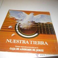Discos de vinilo: SOLO CARATULA SIN DISCO NUESTRA TIERRA BAL-2-28. Lote 38394524
