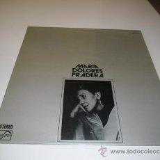 Discos de vinilo: CARATULA SIN DISCO MARIA DOLORES PRADERA. Lote 38394552