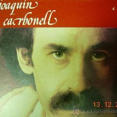 Discos de vinilo: JOAQUIN CARBONELL LP SEMILLAS. Lote 38397923