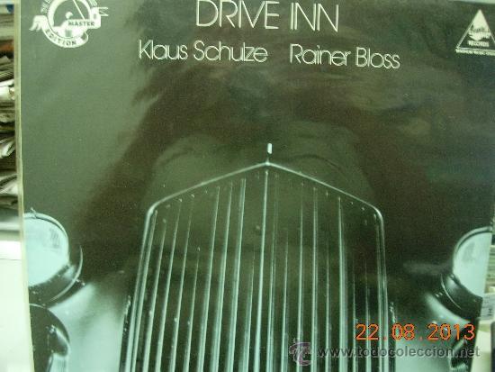 KLAUS SCHULZE RAINER BLOSS LP DRIVE INN (Música - Discos - LP Vinilo - Pop - Rock - New Wave Extranjero de los 80)
