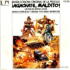 Discos de vinilo: SINGLE BSO AGACHATE MALDITO ( ENNIO MORRICONE, SERGIO LEONE ) . Lote 38399296