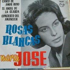 Discos de vinilo: MARIA JOSE ROSAS BLANCAS + 3 EP PHILIPS 1962. Lote 38399737