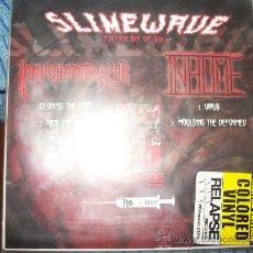 Discos de vinilo: EP SLIMEWAVE SERIES – 6 DE 6 – INHUME – MUMAKIL – GRINDCORE – RELAPSE #710. Lote 38401551