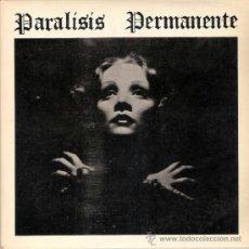 Discos de vinilo: PARALISIS PERMANENTE - NACIDOS PARA DOMINAR / SANGRE (45 RPM) 3 CIPRESES 1983 - EX+/EX+. Lote 38402732