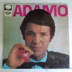 Discos de vinilo: ** ADAMO - LE NEON, VIVRE, UNE LARME AUX NUAGES, DIS MA MUSE - EP AÑO 1967 - MUESTRA PROMOCION. Lote 38407073