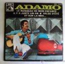 Discos de vinilo: ** ADAMO - LE RUISSEAU DE MON ENFANCE + 3 - EP AÑO 1968 - LEER DESCRIPCION. Lote 38407180