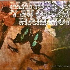 Discos de vinilo: LP MANUEL GAS Y SU ORGANO HAMMOND ( TEMAS DE THE DOORS, BEE GEES, NILSSON, JOHNNY NASH, SUPREMES ) . Lote 38407536