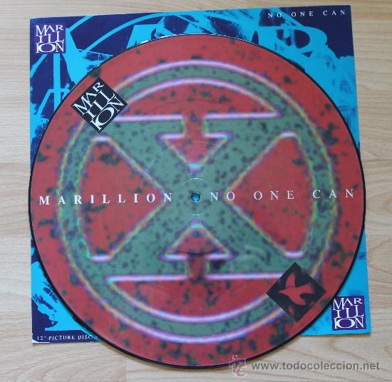 MARILLION NO ONE CAN PICTURE DISC FOTODISCO (Música - Discos - LP Vinilo - Pop - Rock - New Wave Extranjero de los 80)