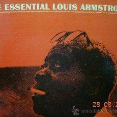 Discos de vinilo: LOUIS ARMSTRONG LP THE ESSENTIAL LOUIS ARMSTRONG. Lote 38408676