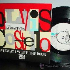 Discos de vinilo: ELVIS COSTELLO / EVERYDAY I WRITE THE BOOK 1983 ( RARO ) ORIG USA EDIT !! TODO IMPECABLE !!. Lote 38410022