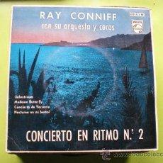 Discos de vinilo: RAY CONNIFF CON SU ORQUESTA Y COROS CONCIERTO EN RITMO Nº 2 PHILIPS 429 822 B SINGLE 1960 PEPETO. Lote 38411143