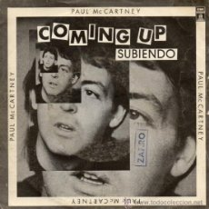 Discos de vinilo: PAUL MCCARTNEY & WINGS, SG COMING UP + 1, AÑO 1980. Lote 38414077