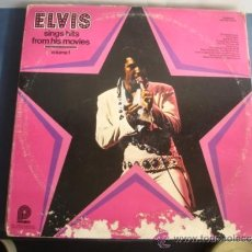 Discos de vinilo: ELVIS SINGS HITS FROM HITS MOVIES. Lote 38416109