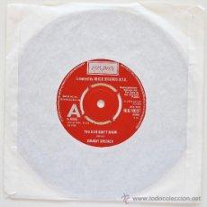 Discos de vinilo: CHUBBY CHECKER - YOU JUST DON'T KNOW - LONDON UK - RARE DEMO 1978. Lote 38418400