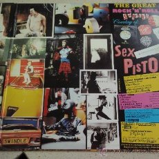 Discos de vinilo: SEX PISTOLS ( THE GREAT ROCK 'N' ROLL SWINDLE ) DOBLE LP33 ENGLAND-1979 VIRGIN. Lote 38421976