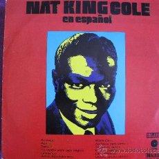 Disques de vinyle: LP - NAT KING COLE - EN ESPAÑOL (SPAIN, CAPITOL RECORDS 1973). Lote 38422088