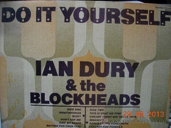 Ian dury the blockheads lp do it yourself comprar discos lp ian dury the blockheads lp do it yourself msica discos lp vinilo solutioingenieria Gallery