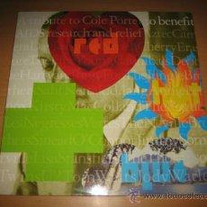 Discos de vinilo: RED, HOT AND BLUE-TRIBUTE TO COLE PORTER LP VINILO DOBLE 1990 ( VERSIONES DE MÚSICOS ACTUALES). Lote 38428569