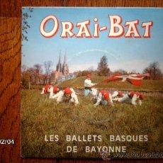 Discos de vinilo: ORAI BAT ZORTZIKO + 5. Lote 38444108