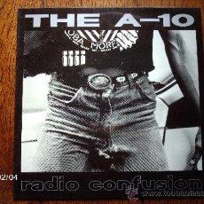 Discos de vinilo: THE A- 10 - RADIO CONFUSION . Lote 38444150