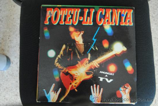 FOTEU-LI CANYA. PICAP 1991. LP (Música - Discos - LP Vinilo - Grupos Españoles de los 90 a la actualidad)