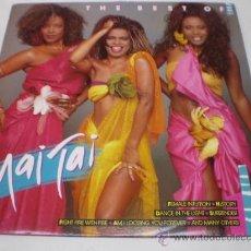 Discos de vinilo: THE BEST OF MAI TAI - LP-CNR RECORDS-AÑO 1988 - N. Lote 38427966